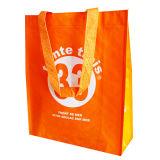 O anúncio Eco-Friendly do saco não tecido recicl o saco (LJ-205)