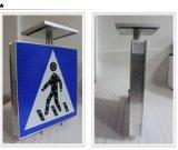Provedor de China Solar Pedestrian Traffic Flashing Light Sign