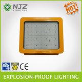 세륨, RoHS 의 Atex LED에 의하여 숨겨지는 보충 LED 폭발 방지 전등 설비 20-150W 의 130lm/W 폭발 방지 빛, LED 투광램프, IP66 &Ik 08 등급