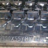 Trilha de borracha (300*55YM*84) para a máquina escavadora