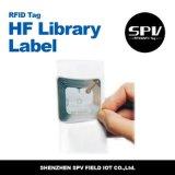 Contrassegno passivo della libreria di RFID Icode Slix