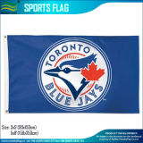 indicateurs bleus de Jays Toronto de polyester fait sur commande de ventilateurs de sports collectifs de 3X5FT (J-NF01F09034)