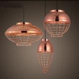 Latón decorativo maravilloso LED de la vendimia que cuelga la luz de la lámpara pendiente para Returant