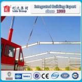 Almacén de la estructura de acero del diseño de la construcción de los UAE