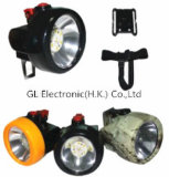 Lampes de chapeau sans fil d'exploitation de Kl2.5lm DEL DEL avec le poids léger 130g