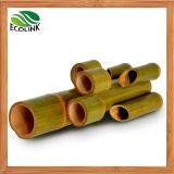 Potenciômetro de bambu natural do vaso de flor/o de bambu da combinação
