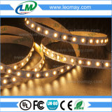 Luz de tira morna do diodo emissor de luz do branco SMD3014 300LEDs/5m do OEM