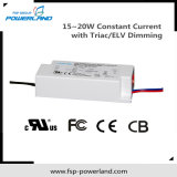 15~20W excitador atual constante do diodo emissor de luz do TRIAC/Elv Dimmable