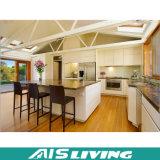 Mobília elevada &Elegant moderna do gabinete de cozinha da laca do lustro (AIS-K139)