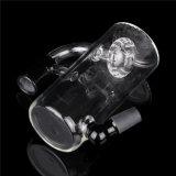 Aschen-Fangfederbleche des Aschen-Fangfederblech-Glas-/Filtrierapparat/Filtrierapparat-Aschen-Fangfederbleche mit der 18.8mm Verbindung für Glaswasser-Rohre und Rohre schwarze Farbe AC-003