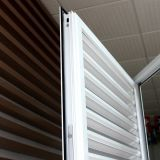 Finestra di alluminio della stoffa per tendine della rottura termica con configurazione in ciechi