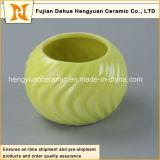 Les bacs de fleur en céramique de couleur de décoration de ménage, colorent le choc en céramique (la décoration à la maison)