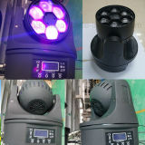6X15W Stage éclairage Faisceau LED Moving Head Mini Bee Eye