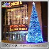 Luz de Natal decorativa do diodo emissor de luz da luz da árvore do jardim ao ar livre