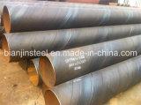 Gasoducto uso de tubería de acero SSAW