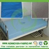 Medico non tessuto materiale del lenzuolo a gettare