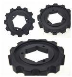 Rodas dentadas moldadas para a corrente plástica