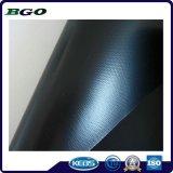 Tela impermeable laminada fría de la tienda del encerado del PVC (500dx500d 9X9 440g)