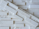 China Factory Pure White Marble Stone Wall Decor