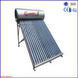 Chauffe-eau solaire de tube électronique de caloduc de 2016 pressions