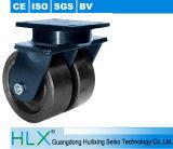 A roda do rodízio/reparou rodízios com o rodízio do PVC das tampas de roda