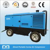 schrauben-Hochdruckluftverdichter des Dieselmotor-4wheels beweglicher Drehhergestellt in China