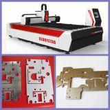 machine de découpage de laser de fibre en métal de l'acier inoxydable 500W