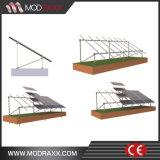 Модули PV крыши олова Низк-Обслуживания рифлёные устанавливая систему (MD0034)