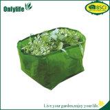 Le légume et le fruit respectueux de l'environnement de jardin de tissu de PE de 3 poches élèvent le sac