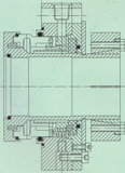 Selo mecânico da Multi-Mola (Hz3)
