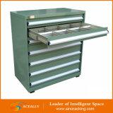Gabinete da gaveta das peças de metal do gabinete de ferramenta pequena