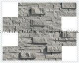 Mattonelle di marmo spaccate di Grey cinese per la decorazione della parete