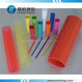 Pipes rondes colorées Tout-Transparentes de l'acrylique PMMA