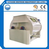 Steel inoxidável Double Shaft Paddle Mixer Low Price em Stock