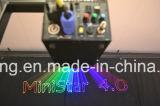 Luces laser puras de la escritura 3D de la animación del diodo