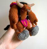 와우 Warcraft 견면 벨벳에 의하여 채워지는 손 크로셰 뜨개질 Amigurumi 니트 인형 장난감