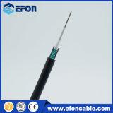 6 aço Singlemode ao ar livre do cabo ótico da fibra do núcleo G652D blindado