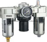 Eenheid van de van de bron lucht de Lucht Filter+Regulator+Lubricator van de Behandeling