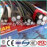 cabo do ABC 0.6/1kv, cabo aéreo do pacote para despesas gerais