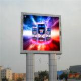 Hohe Helligkeit im FreienP10 RGB LED LED-Bildschirm bekanntmachend