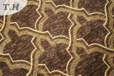 Tissu de Chenille de capitonnage de tissu de sofa de modèle de Gemotric