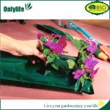Plantador colgante de la flor del jardín de la tela del PE