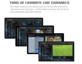 Промежуточное программное обеспечение TV Сталкера OS Mickyhop установленной верхней коробки коробки TV эпицентра деятельности Micro IPTV Ott Ipremium Ulive+ франтовское он-лайн