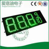 Panneau d'affichage diesel vert des prix de la couleur DEL