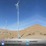 Matériel horizontal d'énergie de générateur/éolienne d'énergie éolienne de turbine de vent de 5000 W Aixs/