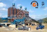 Rampa espiral para a planta de refinaria de cobre