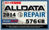 Software 50in1tb HDD van de Reparatie van Alldata en van de Software Mitchell de Auto