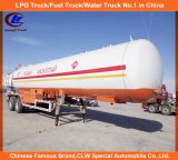 2 axe 40000L LPG Tank Trailer 20tons Liquid Gas Trailer 20t LPG Transport Trailer pour la Mongolie