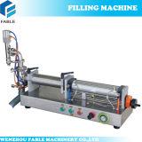 Halb-Sahne Füllmaschine für zwei Köpfe
