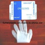 Plastiksicherheit Wegwerf-PET Handschuhe im Kasten